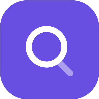 Magnifying glass/zoom icon