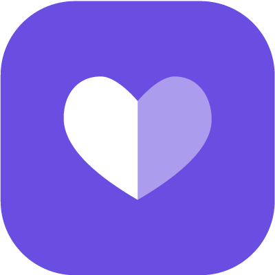 Inverted heart icon