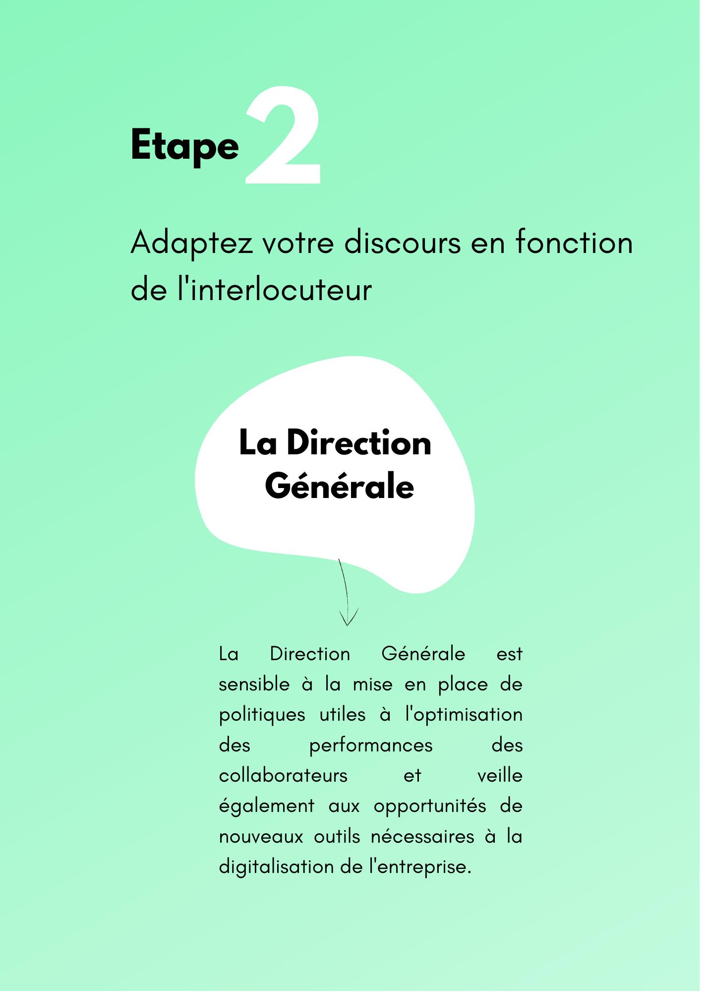 Etape 2 convaincre guide