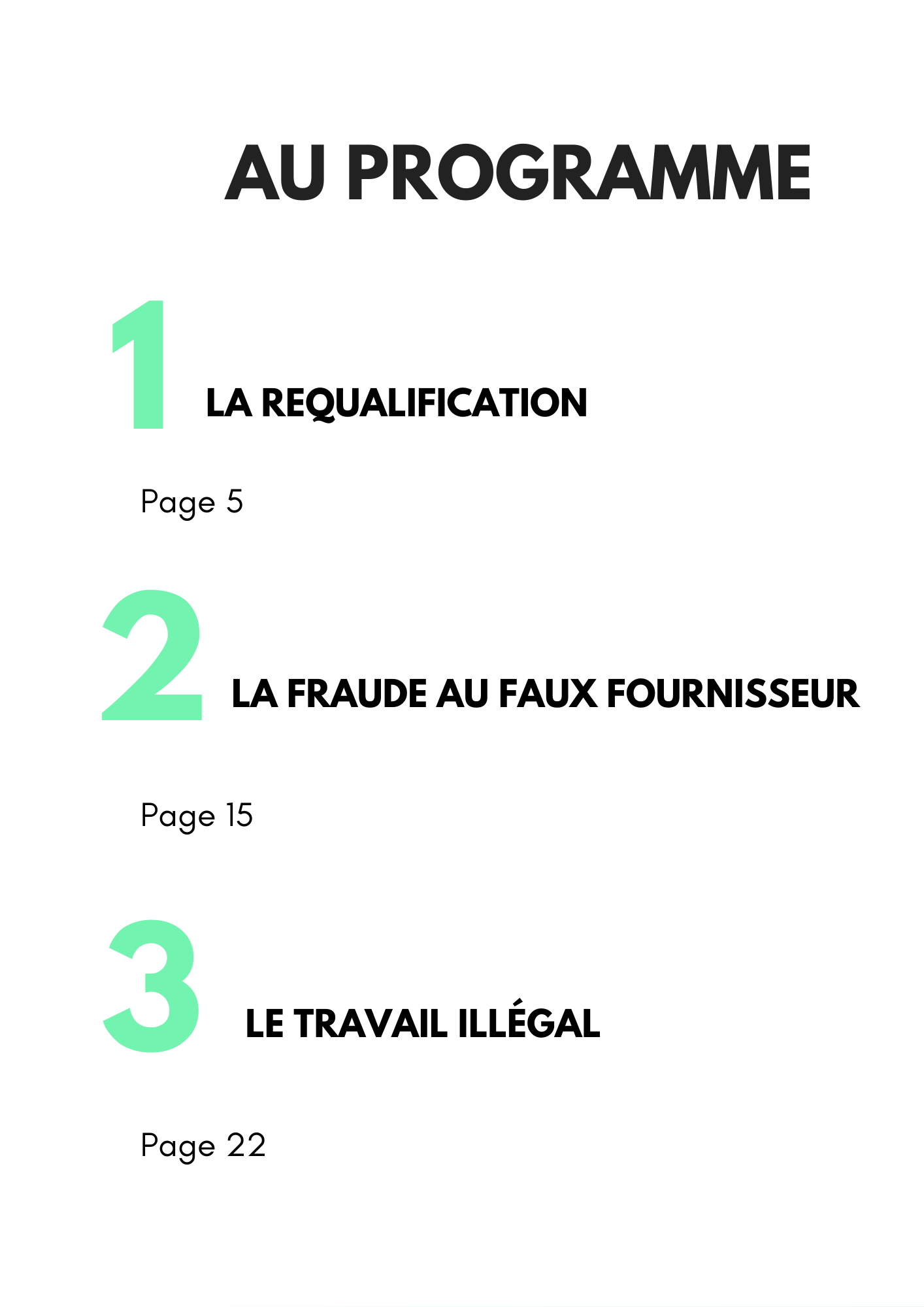 Page sommaire guide maîtrise risque