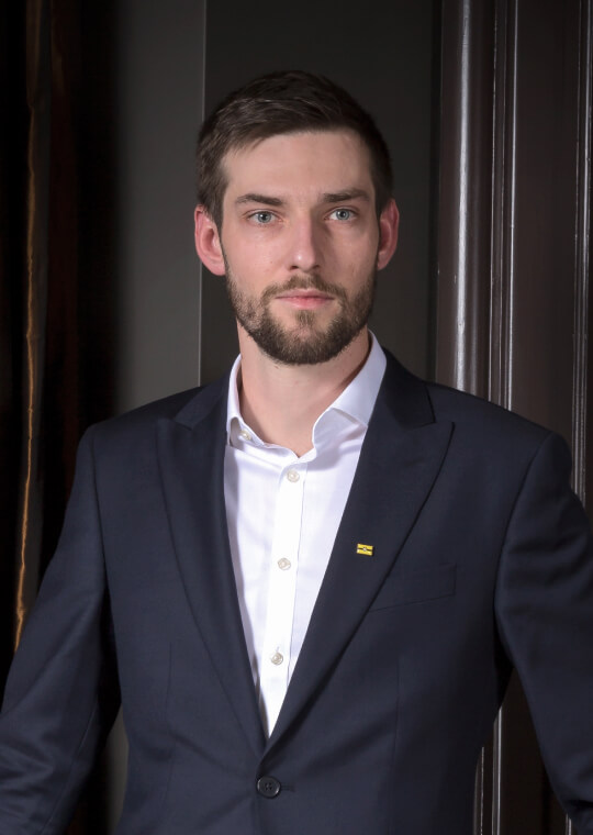 Image of Pavel in suit