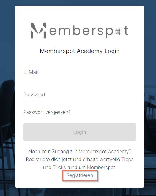 memberspot-register-screen-screenshot