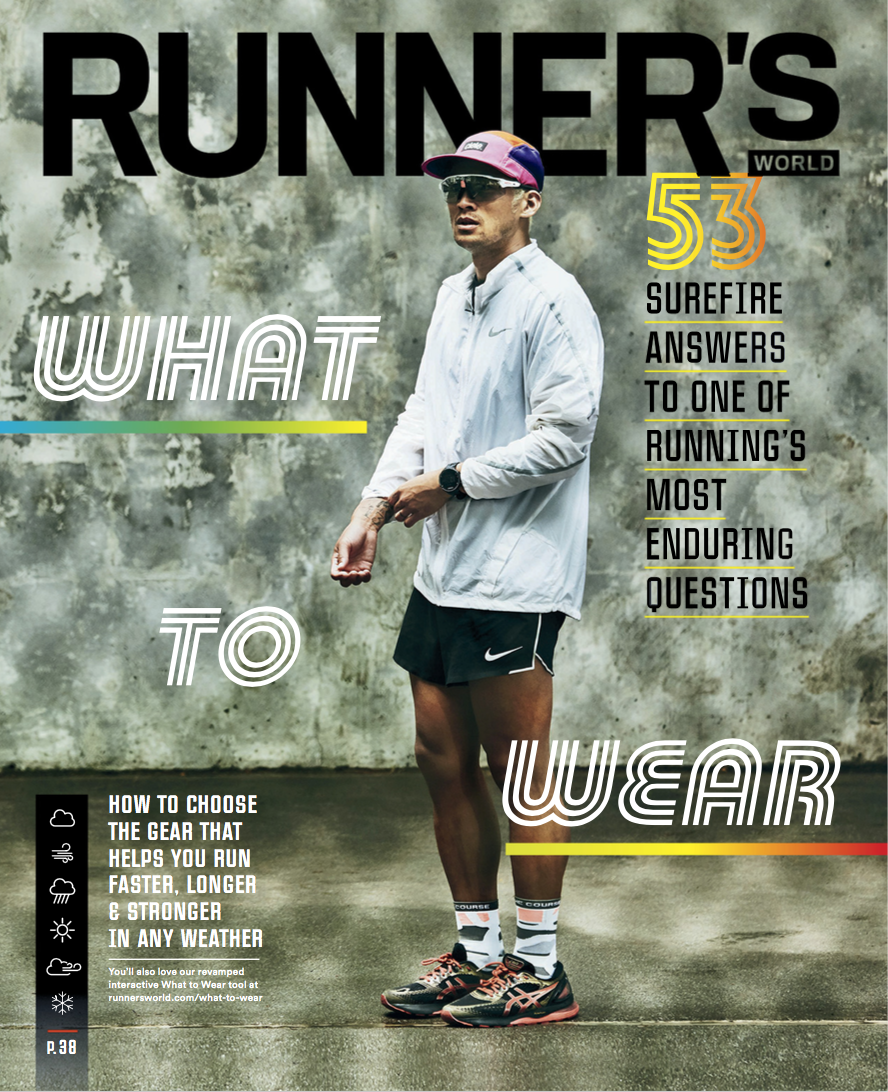Runners Magazine with FRANCISCO BALAGTAS