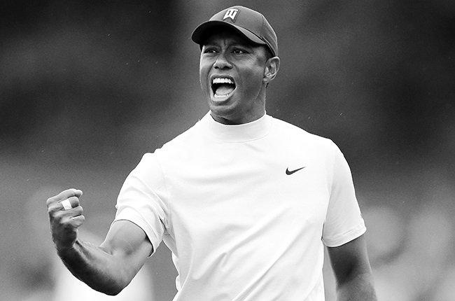 Tiger Woods Cheering