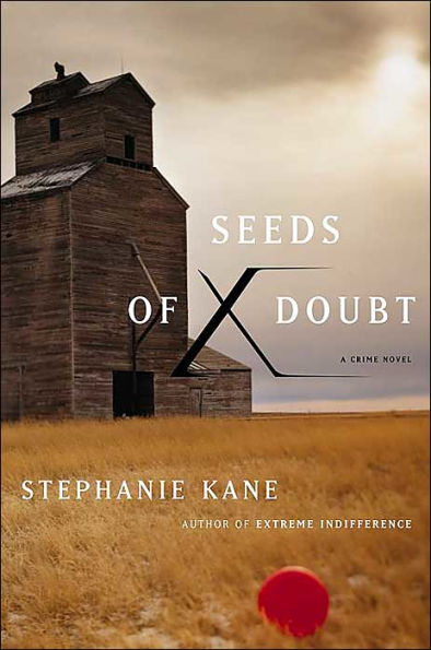 Seeds of Doubt - Old barn in field.