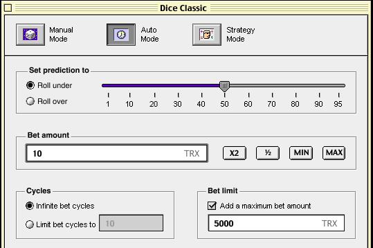 dice classic game