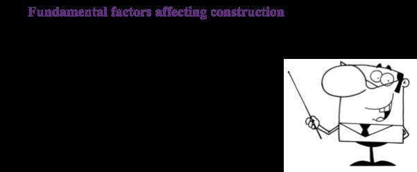 factors that affect construction quality management