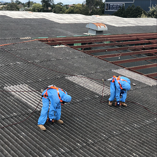 Non-Friable Asbestos Removal