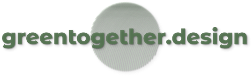 Green Together design logo