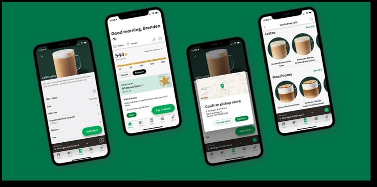 Starbucks' loyalty app
