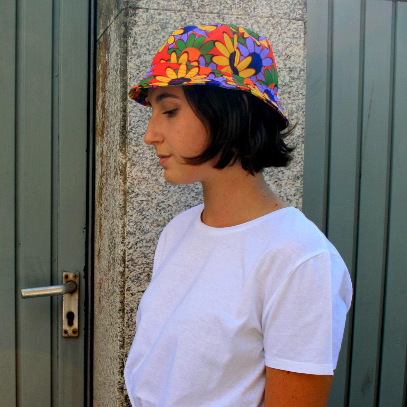 "Sombrero ""Girasoles de colores"""