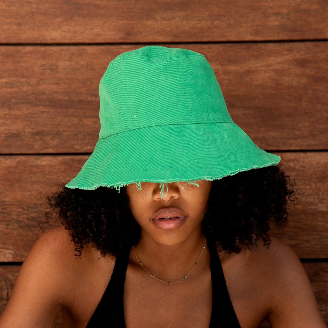 """Sombrero """"Verde desmechado"""""""
