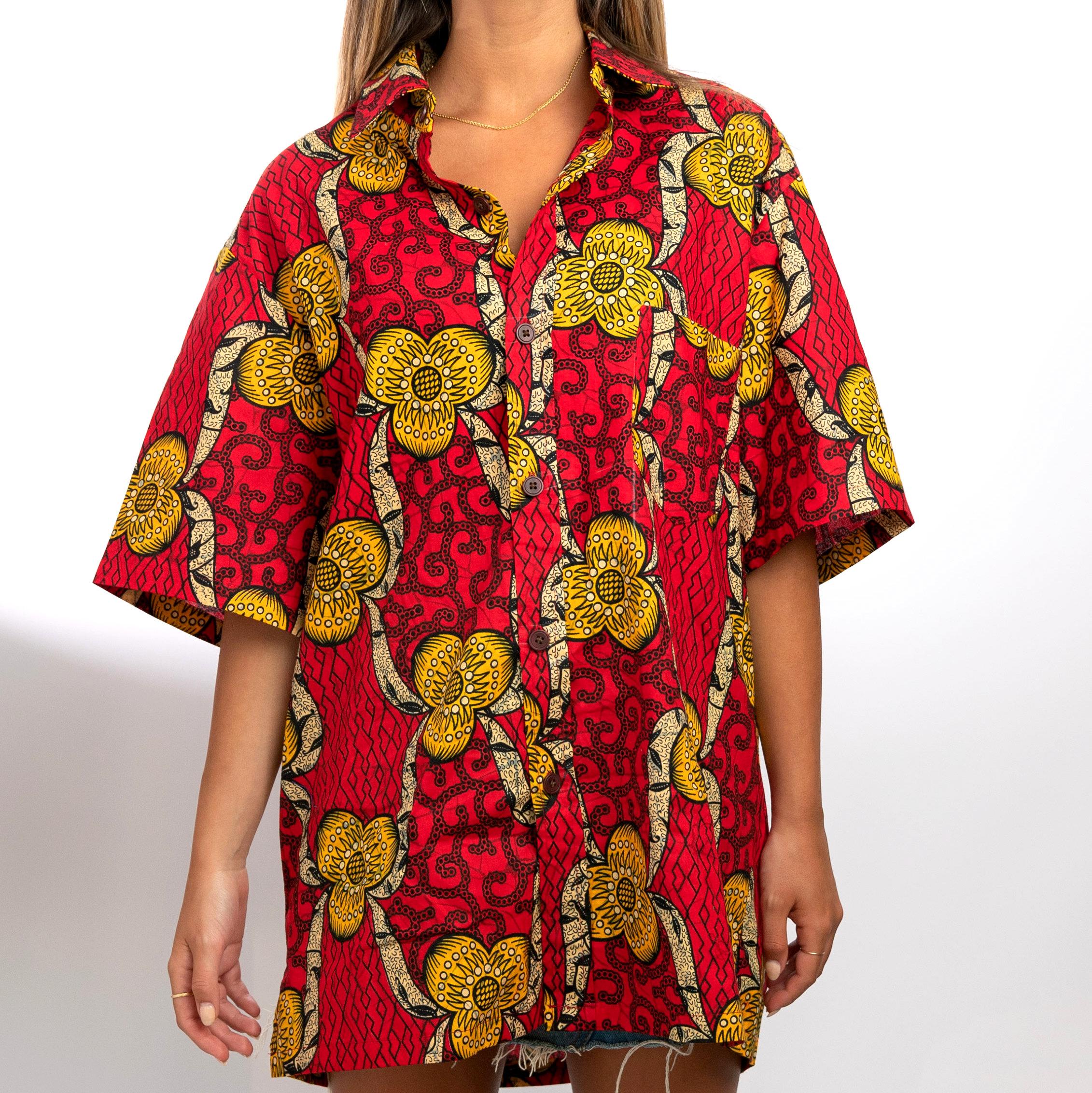Camisa Marimba roja