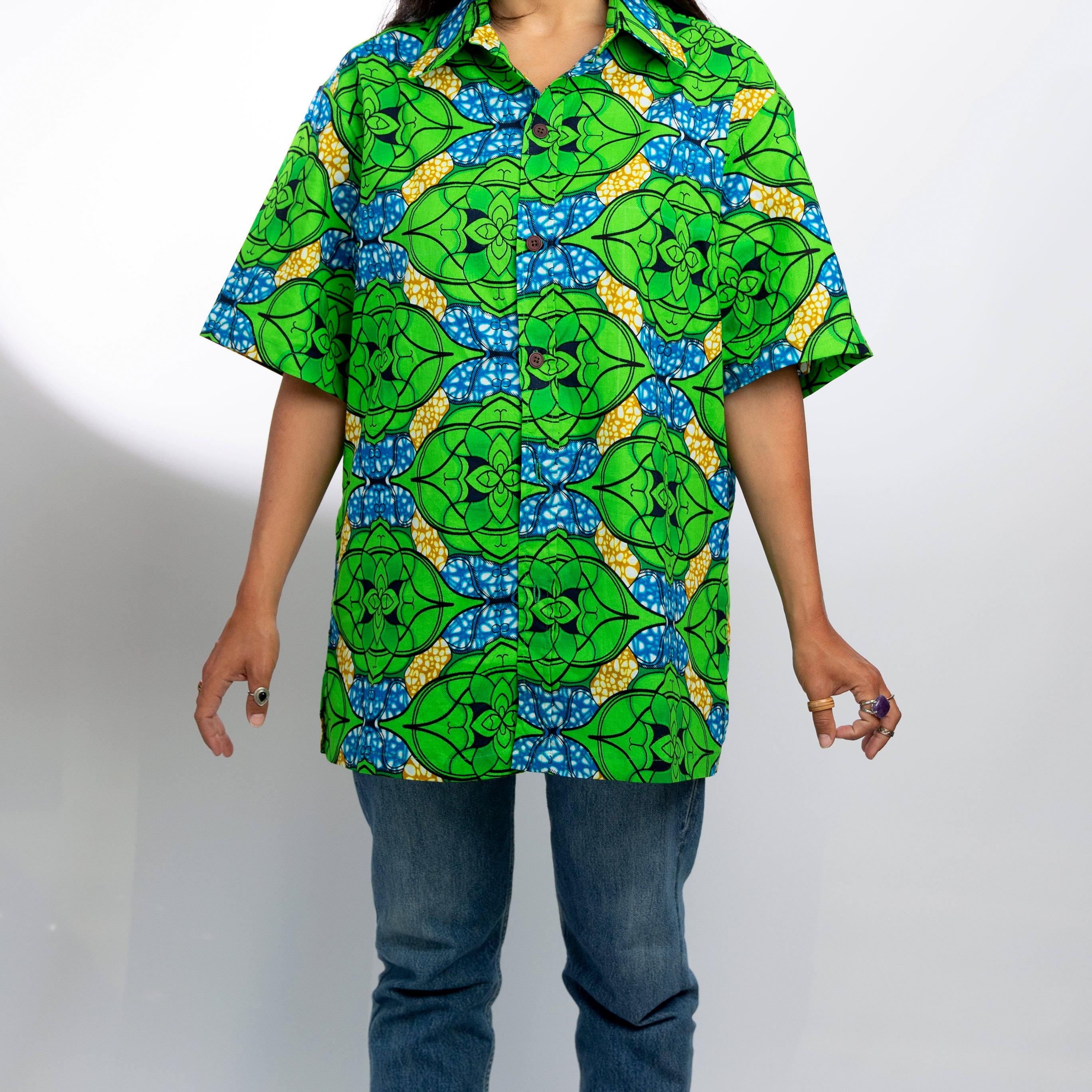 Camisa Samba verde