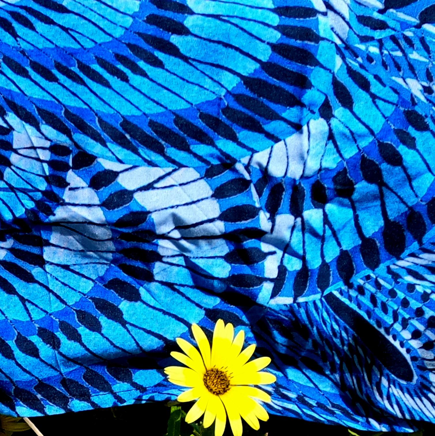 "Pareo ""Azul peacock"""