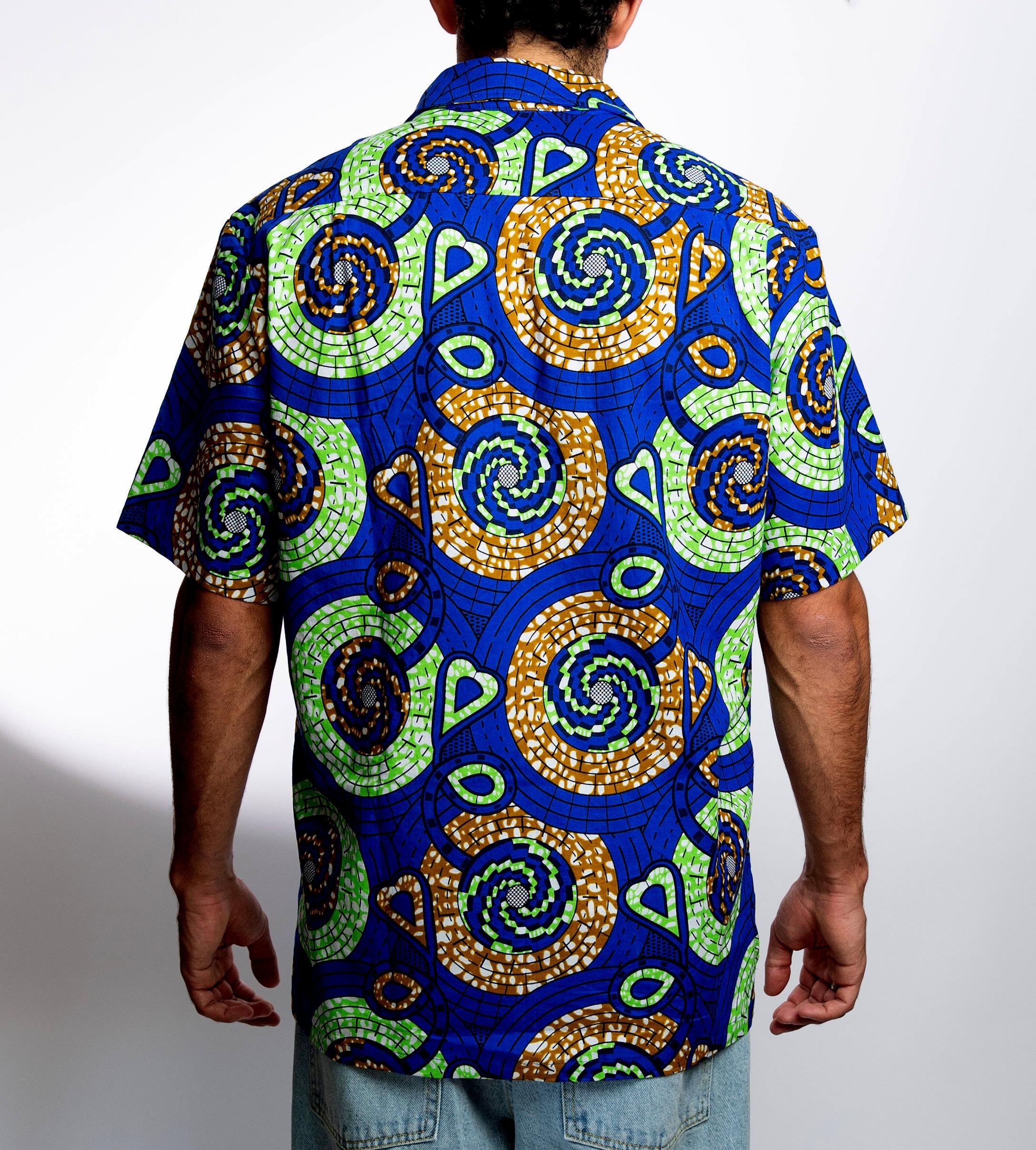 Camisa Funk azul