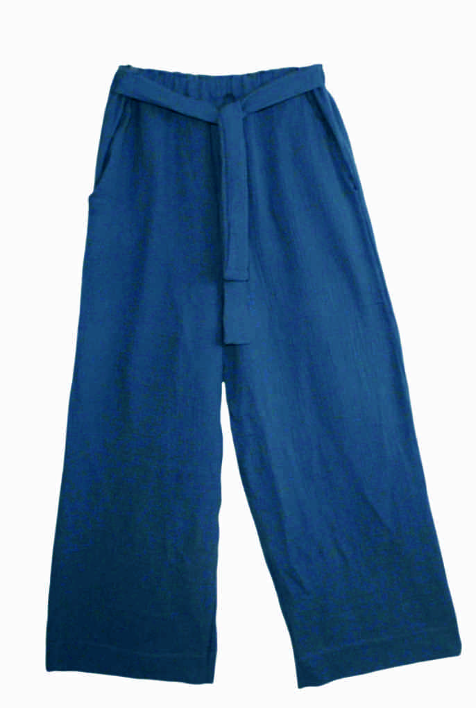 Blue Ice bambula pant