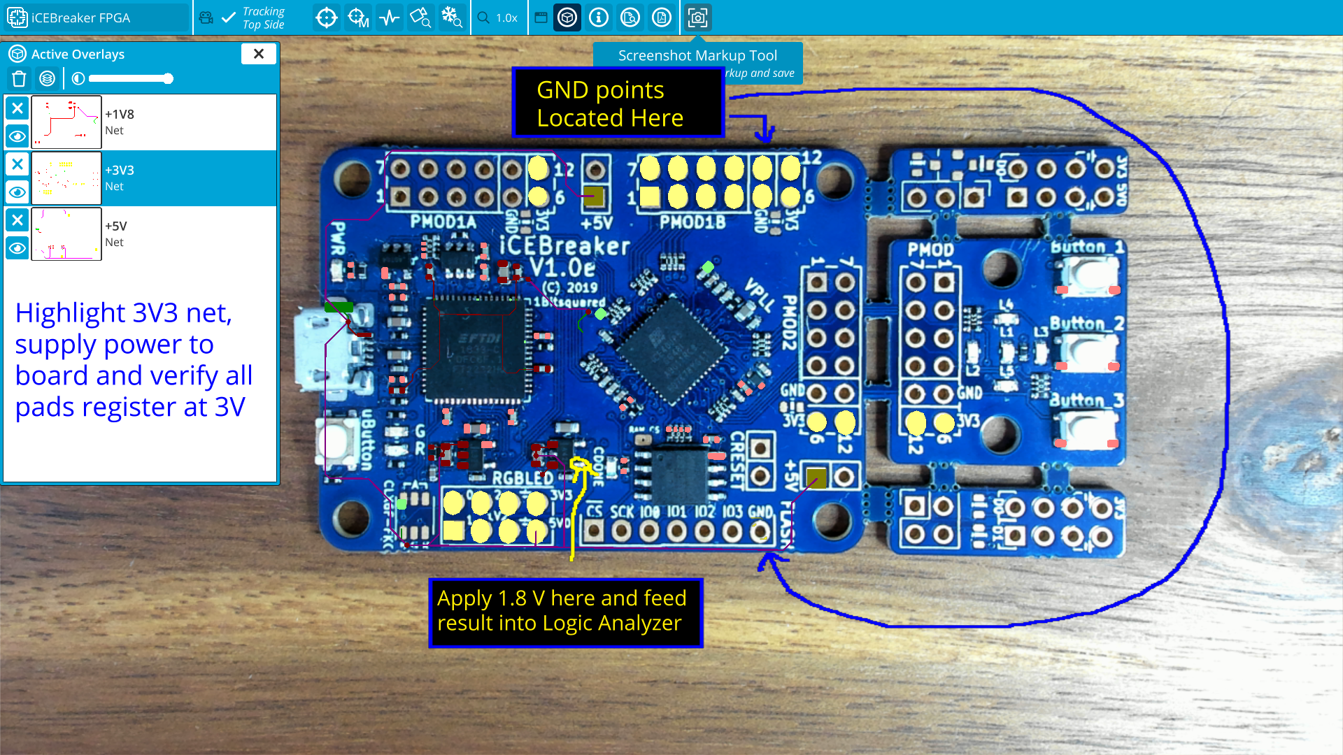 Screenshot Markup Tool inspectAR communicate collaborate