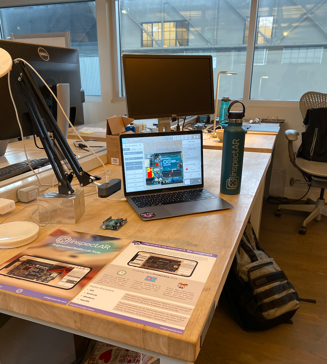inspectAR Desktop setup in San Francisco