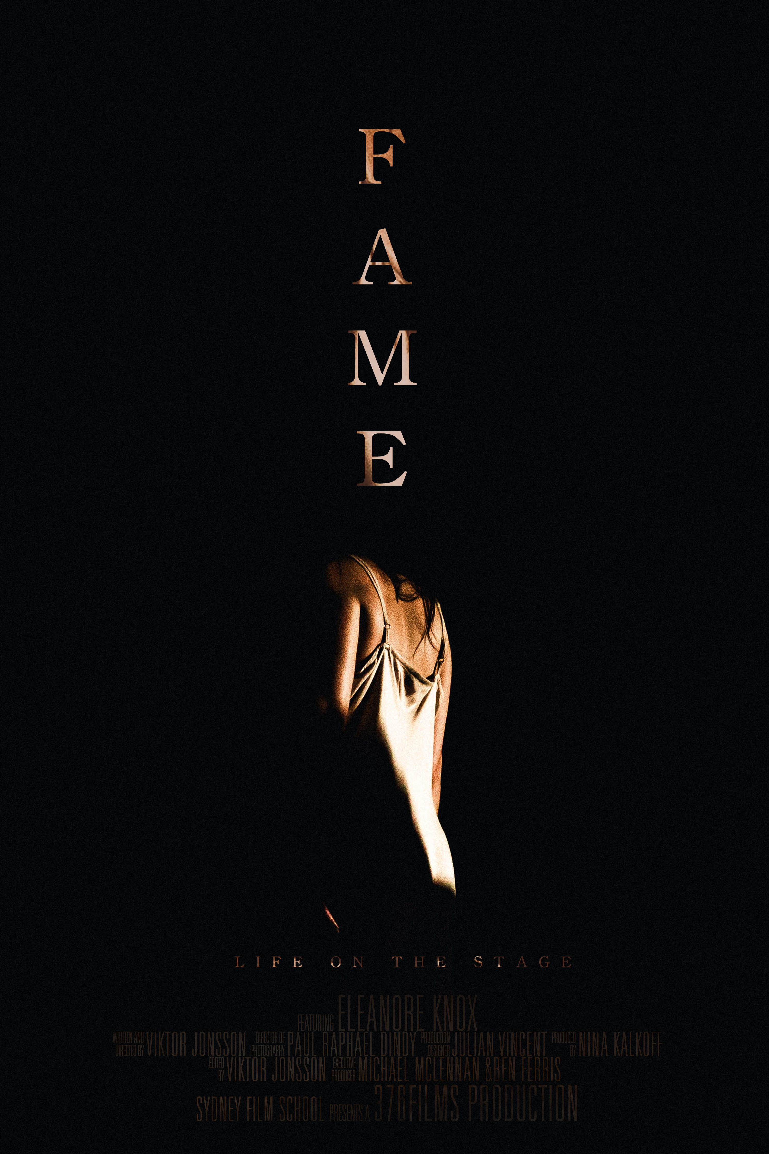 Poster for F A M E
