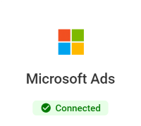 WeatherAds Microsoft Ads connector