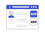A facebook ad showing to a user