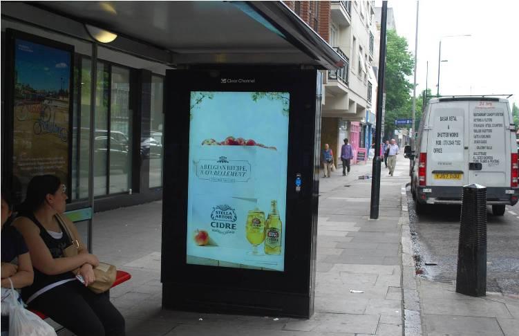 Stellar Cidre Weather Trigger Marketing DOOH billboard