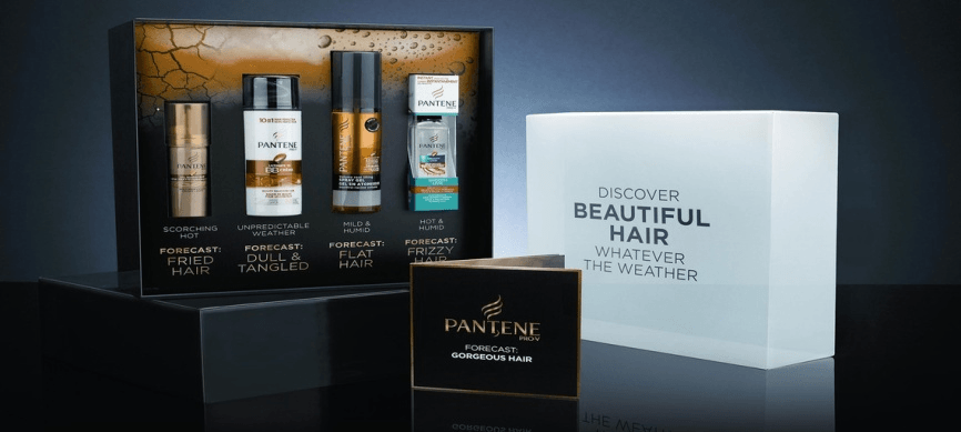 Pantene Weather Triggered Campaign