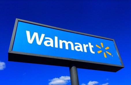 Walmart billboard