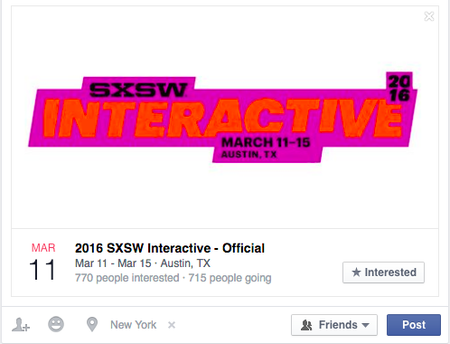 Music Festival weather activated ads on Facebook