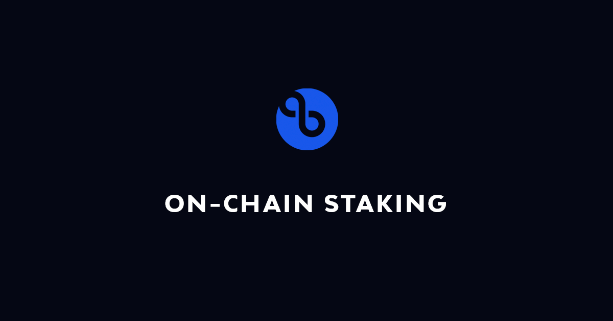 On-Chain Staking
