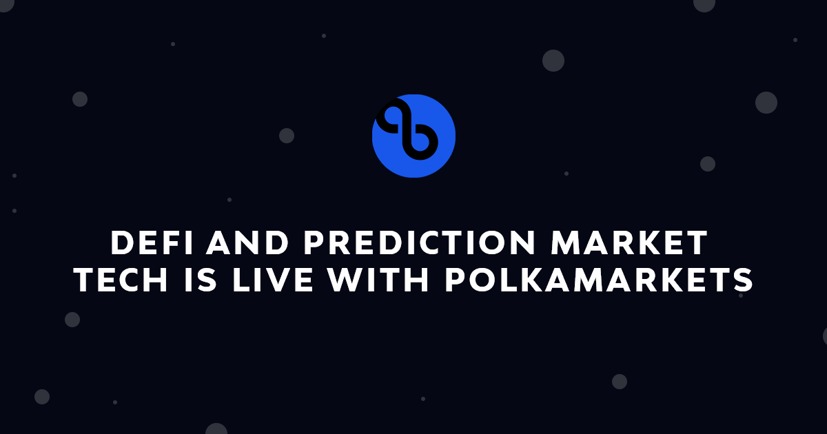 Prediction Market Codebase is Live with Polkamarkets