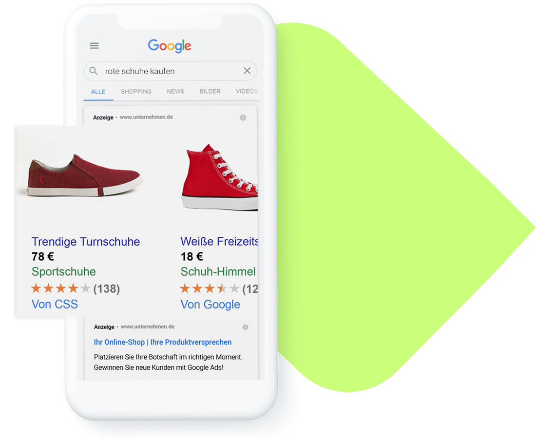 Google Ads Agentur für E-Commerce
