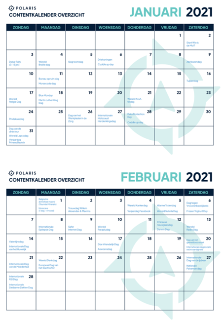 Voorbeeld Ecommerce Marketing inhaakkalender 2021