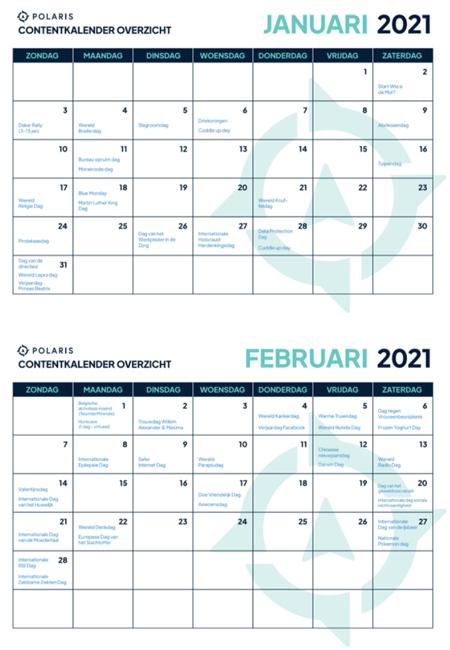 Voorbeeld Ecommerce Marketing inhaakkalender 2021