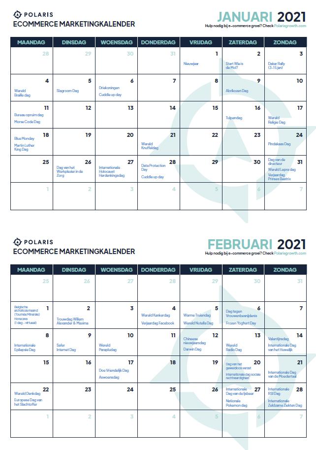 ecommerce marketingkalender download