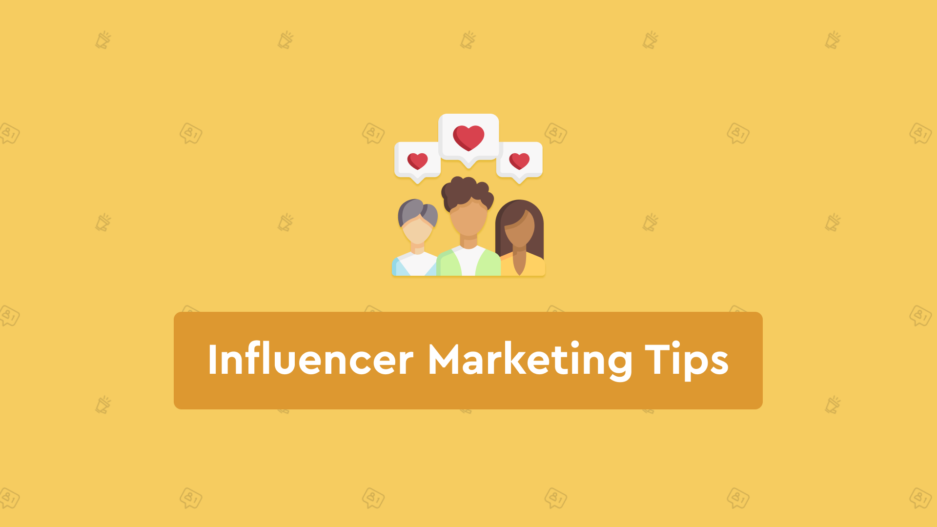 Influencer marketing uses influencers, such as celebrities, to push your product or service through a collaboration...