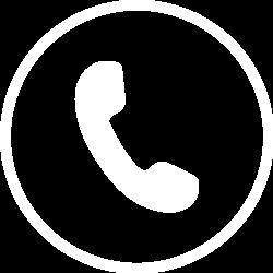 Phone icon - white