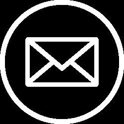 Email icon - white