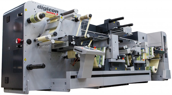 Digicon Series 3 die cutter with fast-track die cutting for label finishing