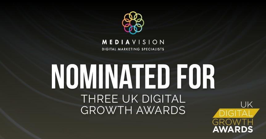 MediaVsion Nominated for Three UK Digital Growth Awards