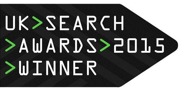 UK Search Awards Winner 2015
