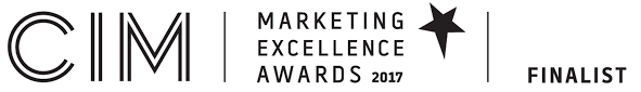 CIM Marketing excellence awards 2017 Finalist