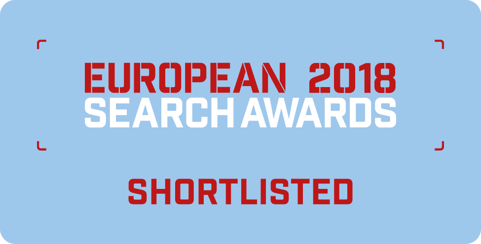 European Search Awards Shortlisted 2018