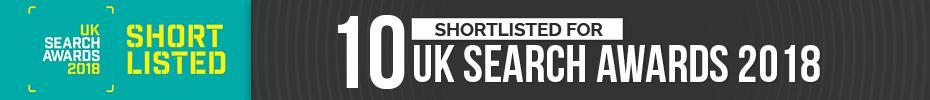 UK Search Awards 10 Shortlists 2018