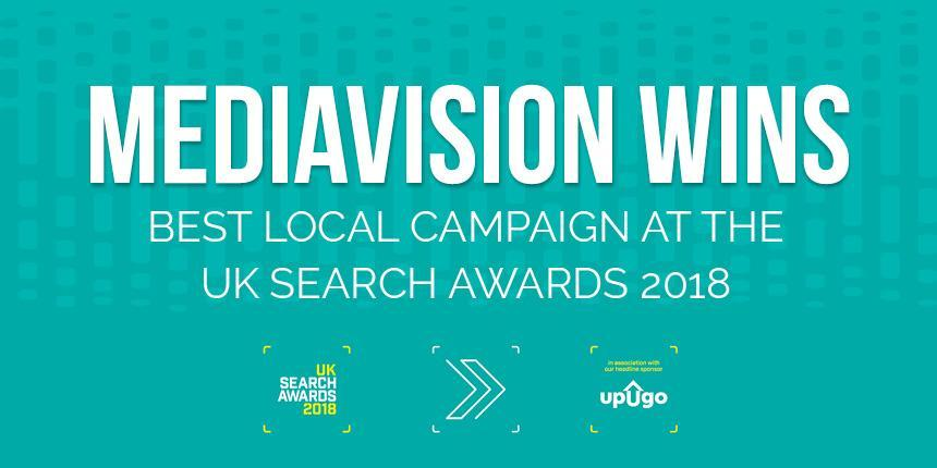UK Search Awards Best Local Campaign 2018