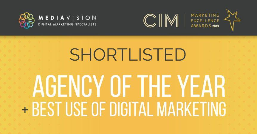 Agency of the Year Shortlisted CIM 2019