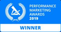 Performance Marketing Awards 2019 Winner