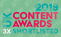 Content Awards 3x Shortlists 2019