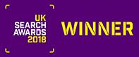 UK Search Awards WInner 2018